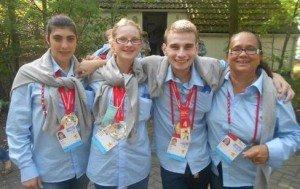 Jeux européens pour des jeunes de l'IME St Martin